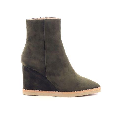 Lola cruz damesschoenen boots kaki 217714