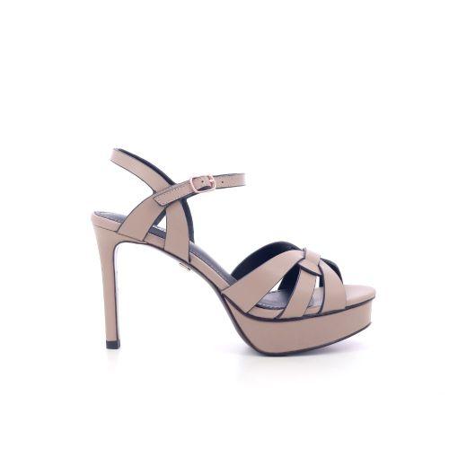 Lola cruz damesschoenen sandaal taupe 205108