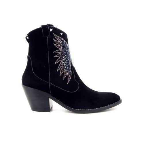 Lola cruz damesschoenen boots zwart 177981