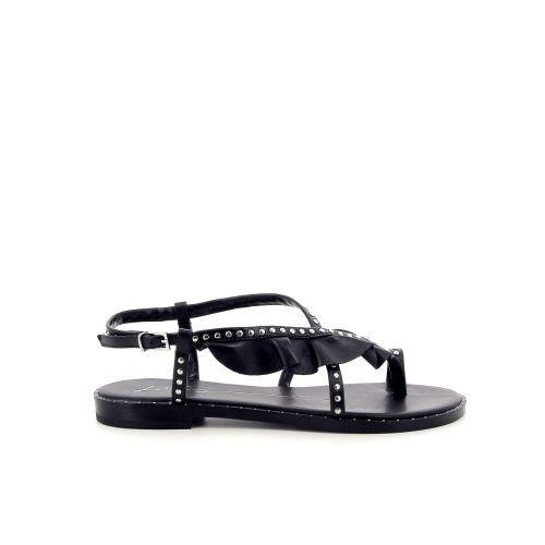Lola cruz damesschoenen sandaal zwart 183167