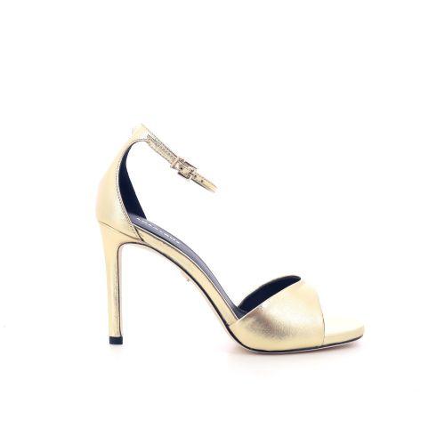 Lola cruz  sandaal goud 205112