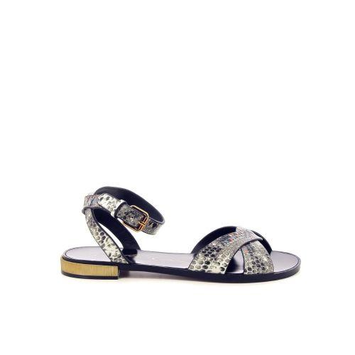 Lola cruz  sandaal grijs 194609