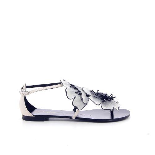 Lola cruz koppelverkoop sandaal ecru 191273