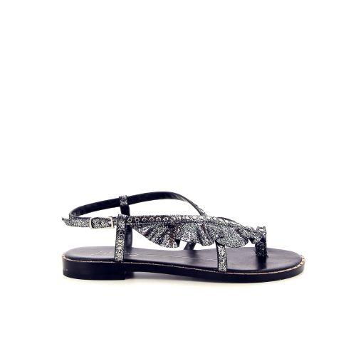 Lola cruz koppelverkoop sandaal zwart 183167