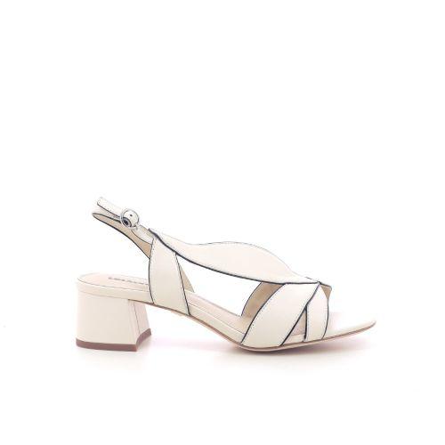 Lola cruz solden sandaal ecru 205113