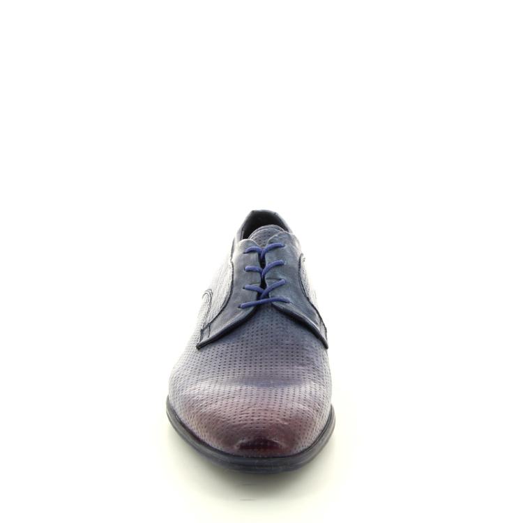 Lorenzi herenschoenen veterschoen donkerblauw 12018