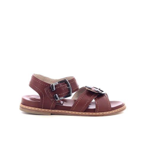 Lorenzo masiero damesschoenen sandaal cognac 206536