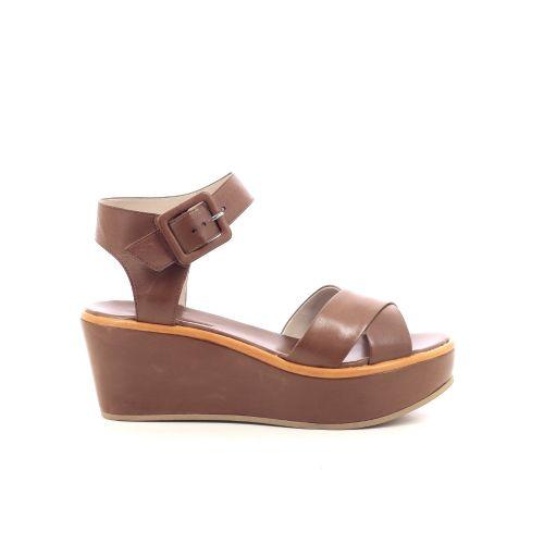 Lorenzo masiero damesschoenen sandaal cognac 206540