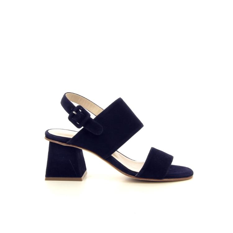 Lorenzo masiero damesschoenen sandaal donkerblauw 195831
