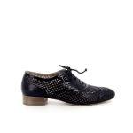 Lorenzo masiero damesschoenen veterschoen zwart 173479