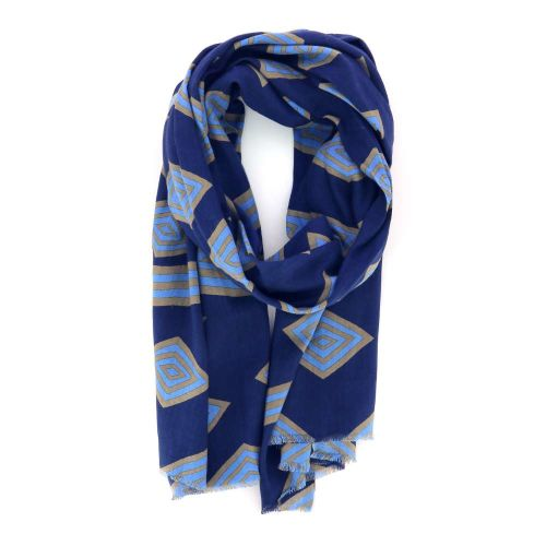 Lovat & green accessoires sjaals felblauw 214147