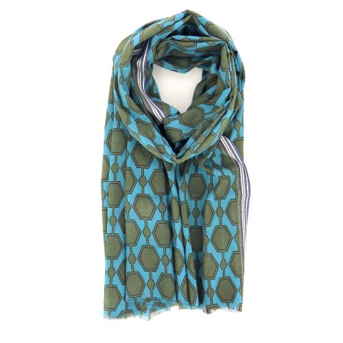 Lovat & green accessoires sjaals turquoise 214139