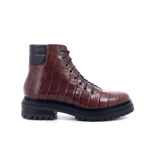 Luca grossi damesschoenen boots cognac 209743