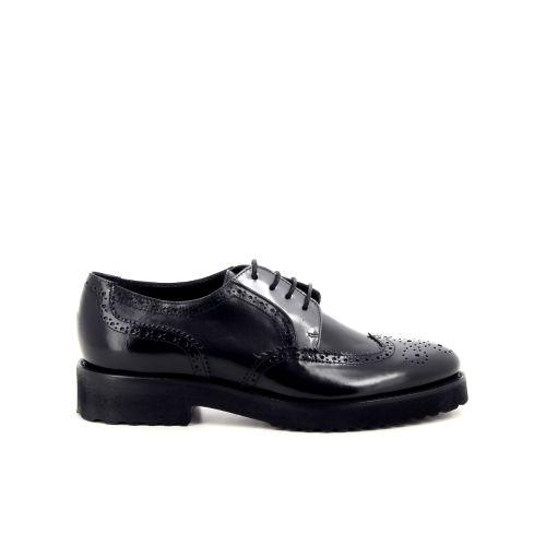 Luca grossi damesschoenen veterschoen zwart 190150
