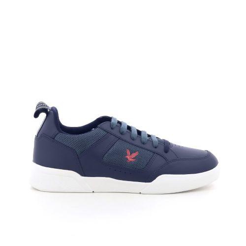 Lyle& scott herenschoenen sneaker blauw 203594