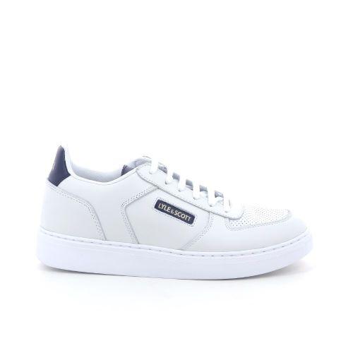 Lyle& scott herenschoenen sneaker wit 198956
