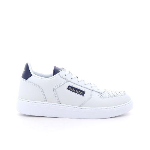 Lyle& scott herenschoenen sneaker wit 203597