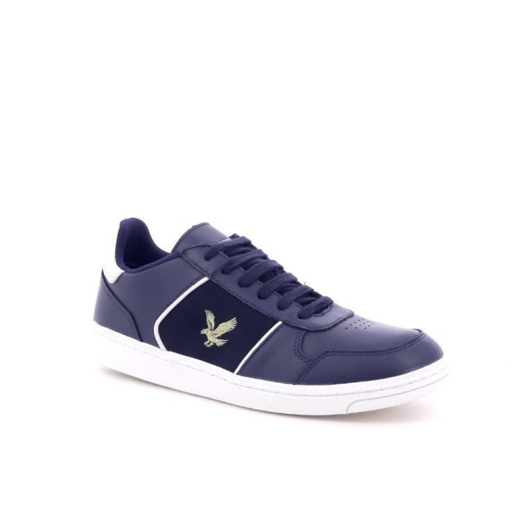 Lyle& scott herenschoenen sneaker blauw 198958