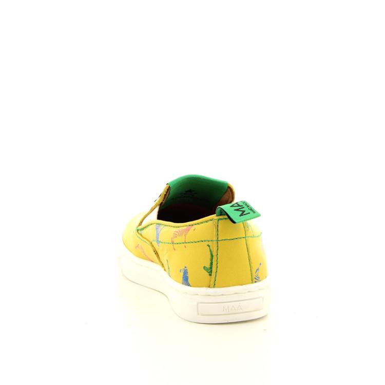 Maa kinderschoenen mocassin geel 10832