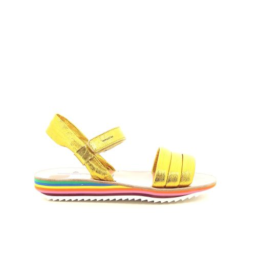 Maison mangostan solden sandaal felgeel 193965