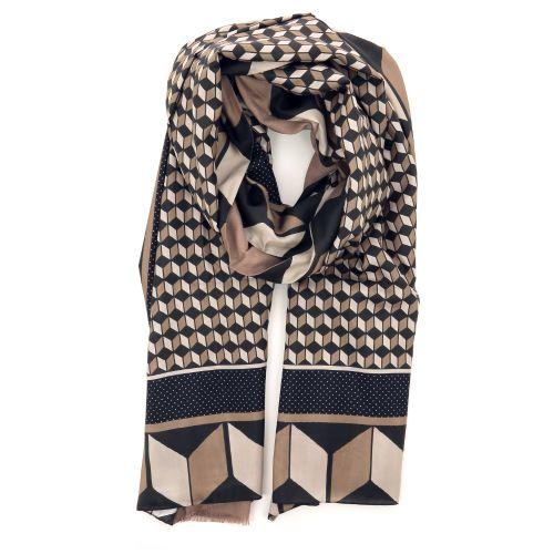 Maliparmi accessoires sjaals bruin 211482