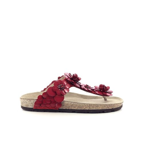 Maliparmi damesschoenen sleffer d.rood 213203