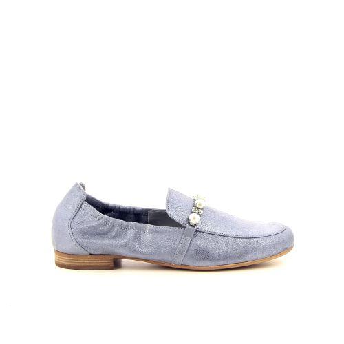 Maripe damesschoenen mocassin hemelsblauw 185512