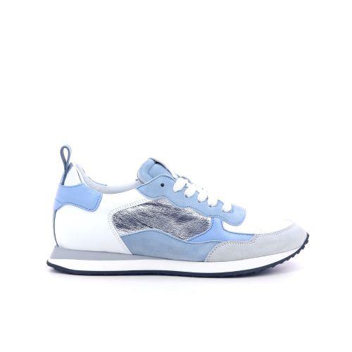 Maripe damesschoenen veterschoen hemelsblauw 214555