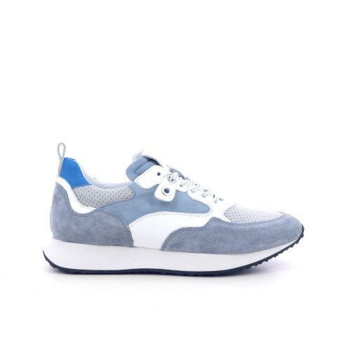 Maripe damesschoenen veterschoen lichtblauw 214550