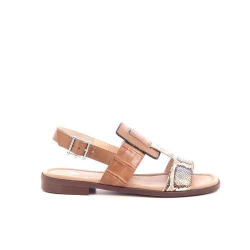 Maripe damesschoenen sandaal naturel 206371