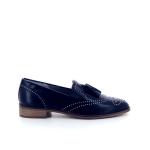 Maripe damesschoenen mocassin blauw 173416
