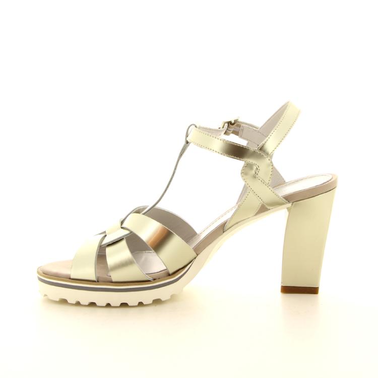 Maripe damesschoenen sandaal goud 98766