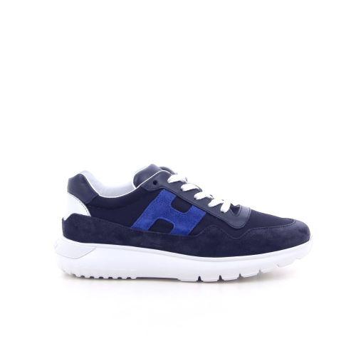 Hogan kinderschoenen sneaker blauw 191665