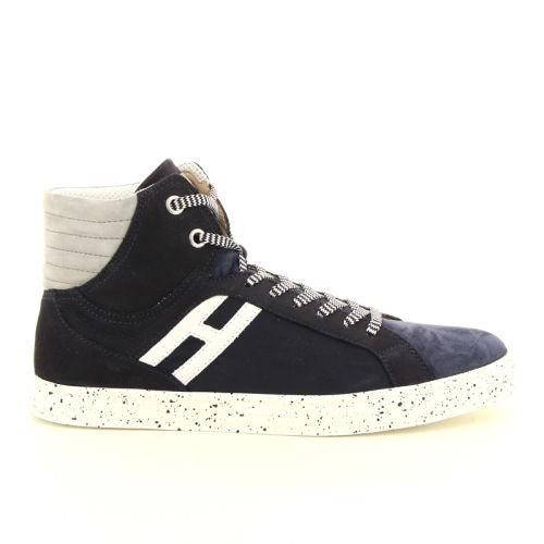 Hogan herenschoenen sneaker donkerblauw 98545