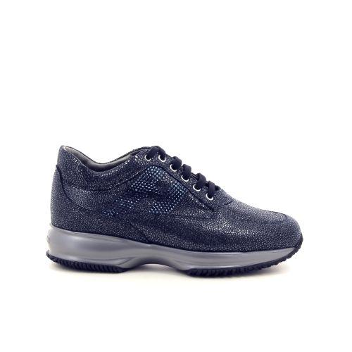 Hogan damesschoenen veterschoen blauw 187058