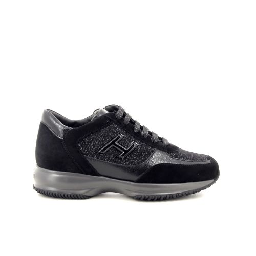 Hogan damesschoenen sneaker zwart 197572