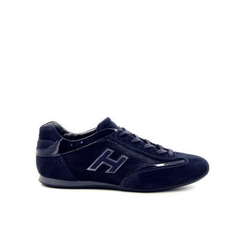 Hogan damesschoenen veterschoen blauw 187061
