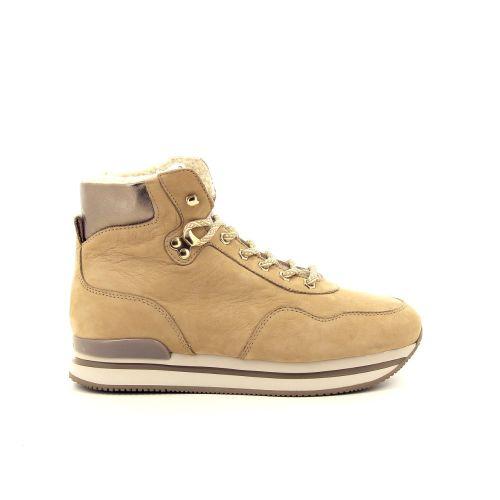Hogan damesschoenen sneaker cognac 187062