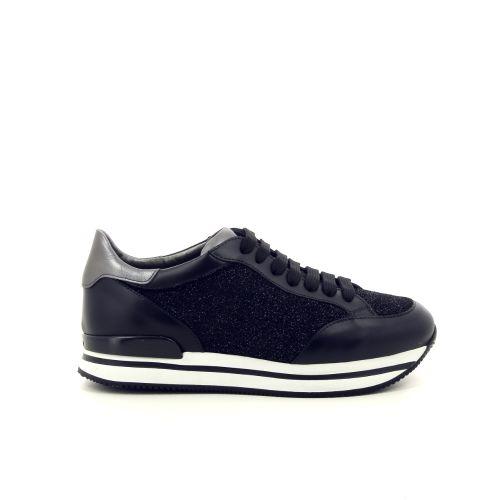Hogan damesschoenen veterschoen zwart 187041