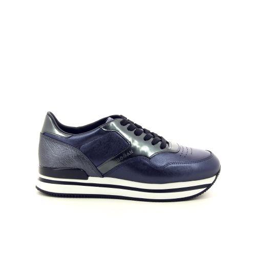 Hogan damesschoenen veterschoen blauw 187044