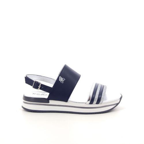 Hogan damesschoenen sandaal donkerblauw 191918