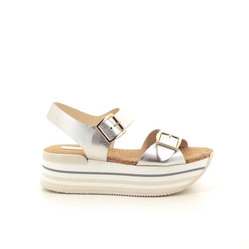 Hogan damesschoenen sandaal platino 191920