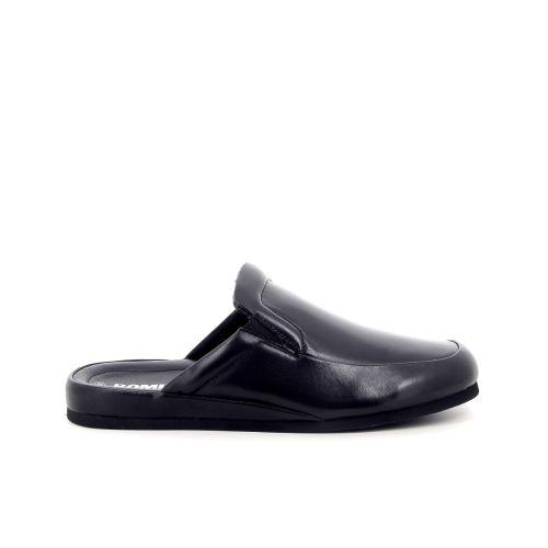 Romika herenschoenen pantoffel zwart 182645
