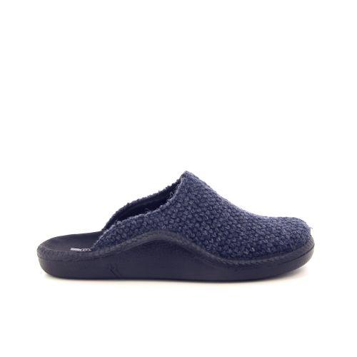 Romika herenschoenen pantoffel blauw 178205