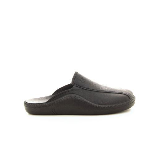 Romika  pantoffel zwart 19710