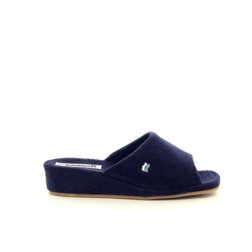 Romika damesschoenen pantoffel blauw 189809