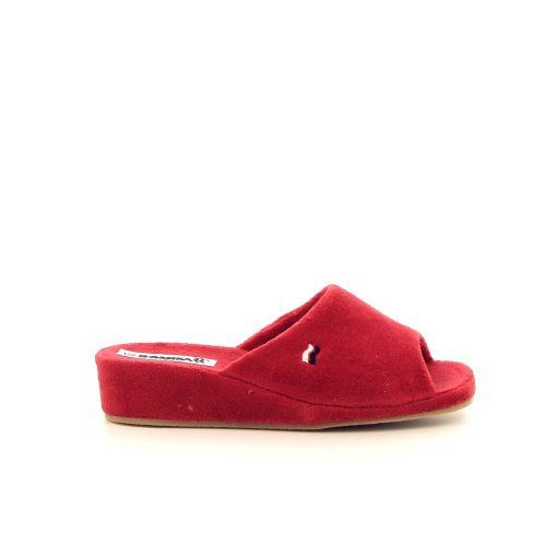 Romika damesschoenen pantoffel rood 189809