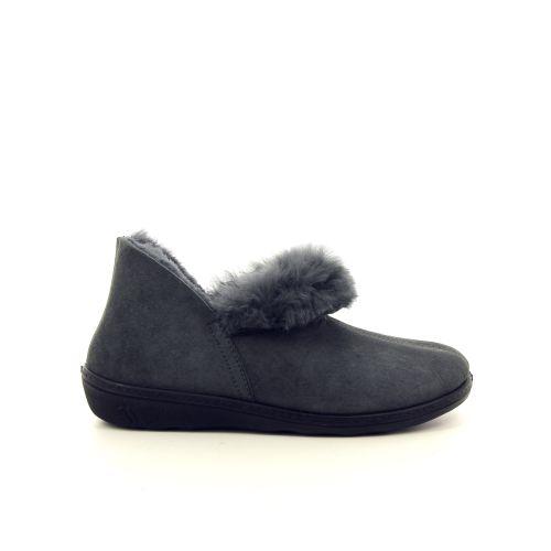 Romika damesschoenen pantoffel grijs 189815
