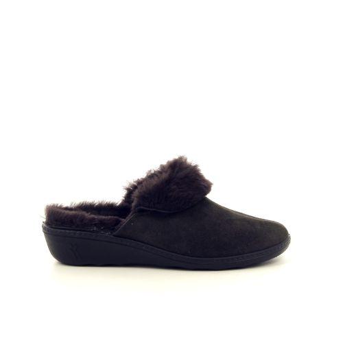 Romika damesschoenen pantoffel bruin 189812