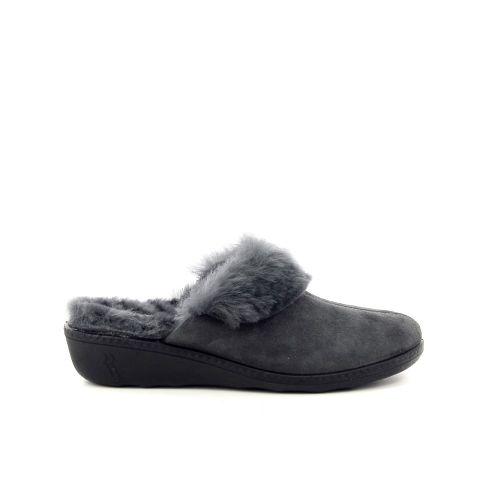 Romika damesschoenen pantoffel grijs 189812